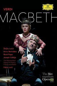 Cover Željko Lučić / Anna Netrebko - Macbeth - Verdi [DVD]